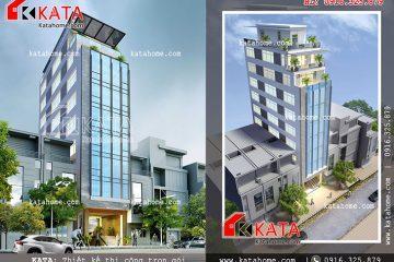 Thiết kế trụ sở văn phòng, nhà cao tầng đẹp, thi công trọn gói