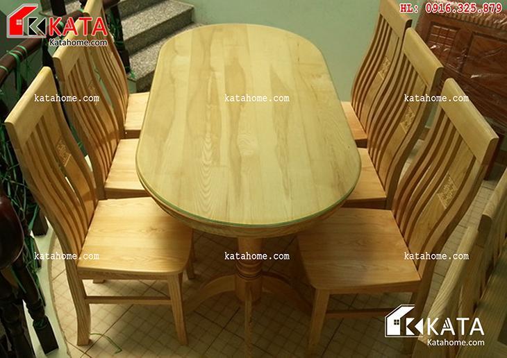 Mẫu bàn ăn đẹp, sản xuất đồ gỗ nội thất, Mẫu bàn ăn đẹp - Mã số: BA 11012