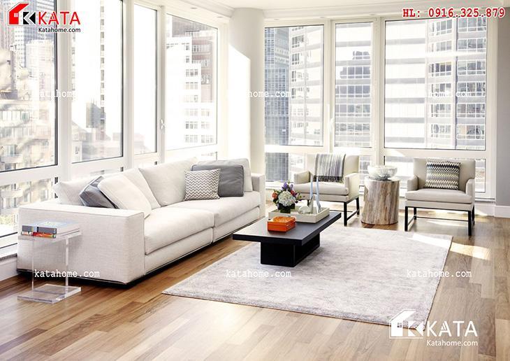 Mẫu thiết kế Sofa cho phòng khách số 1