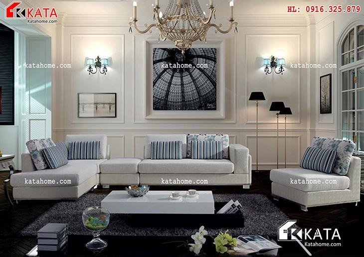 Mẫu thiết kế Sofa cho phòng khách số 2