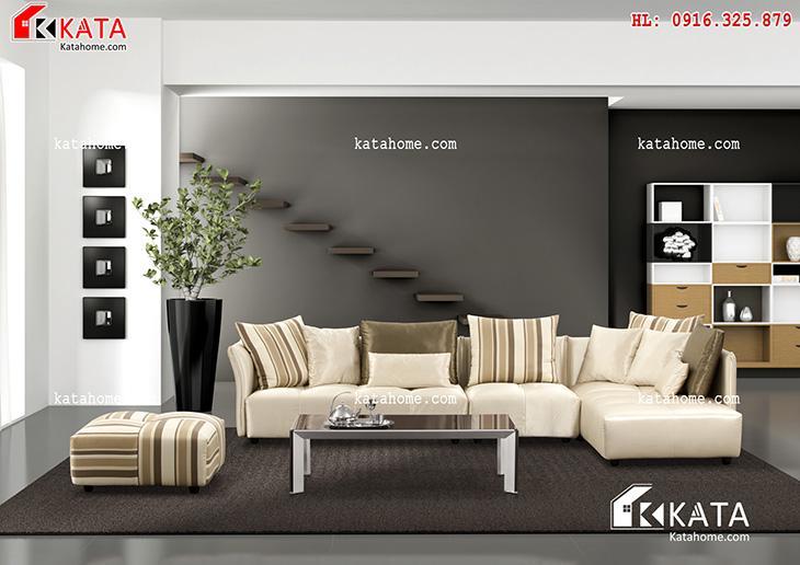 Mẫu thiết kế Sofa cho phòng khách số 6