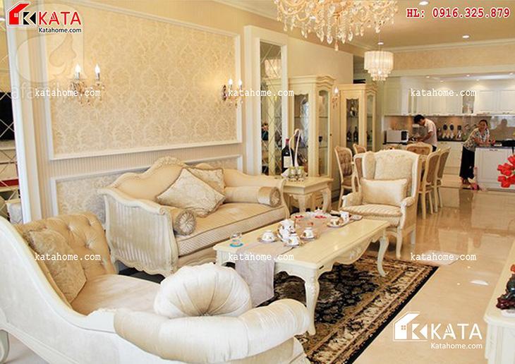 Mẫu thiết kế Sofa cho phòng khách số 17