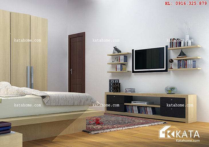 Katahome.com - Mẫu kệ Tivi hiện đại đẹp, sản xuất đồ gỗ nội thất