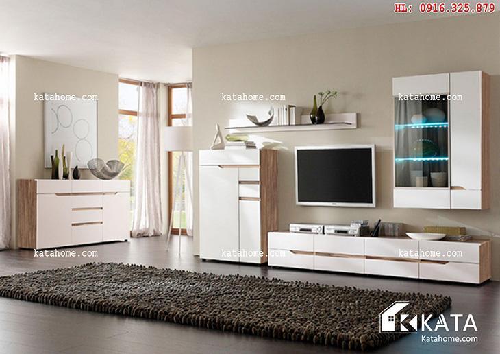 Katahome.com - Mẫu kệ Tivi đẹp, sản xuất đồ gỗ nội thất (1)