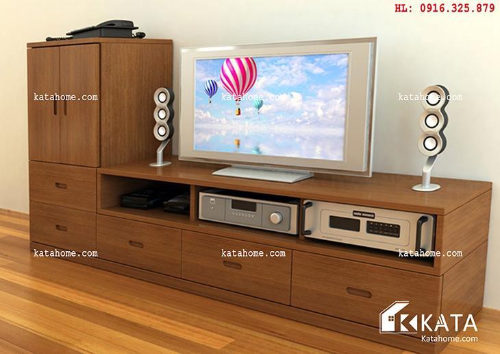 Katahome.com - Mẫu kệ Tivi đẹp, sản xuất đồ gỗ nội thất (4)