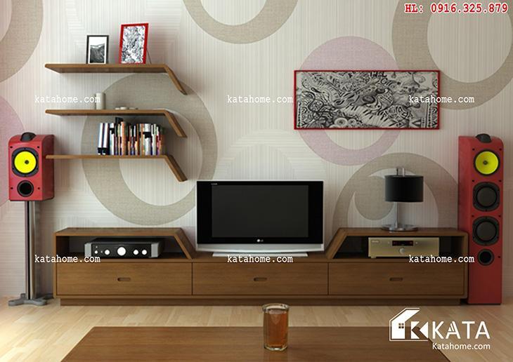 Katahome.com - Mẫu kệ Tivi đẹp, sản xuất đồ gỗ nội thất (6)