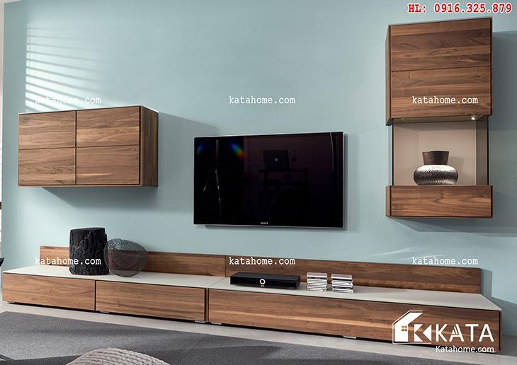 Katahome.com - Mẫu kệ Tivi đẹp, sản xuất đồ gỗ nội thất (7)