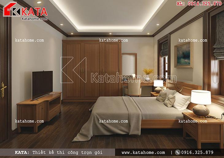 Thiết kế biệt thự, thiết kế nhà liền kề đẹp 2 tầng, thi công trọn gói, thiết kế nội thất biệt thự pháp 3 tầng (5)