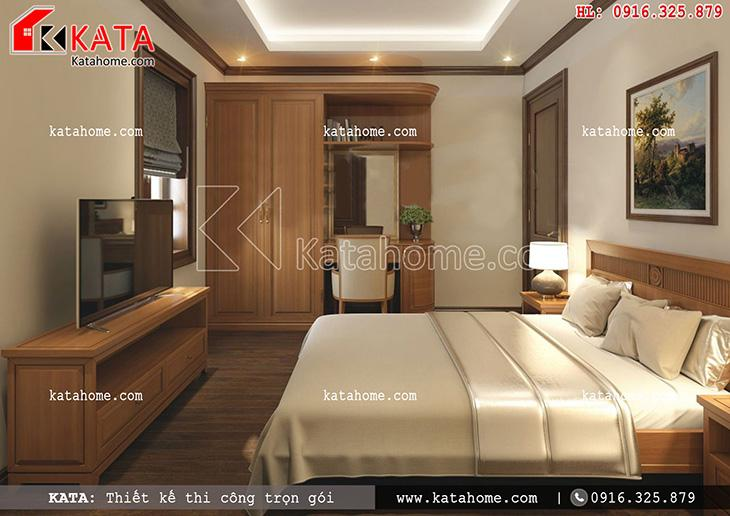 Nội thất phòng ngủ đôi đơn giản và sang trọng (1)