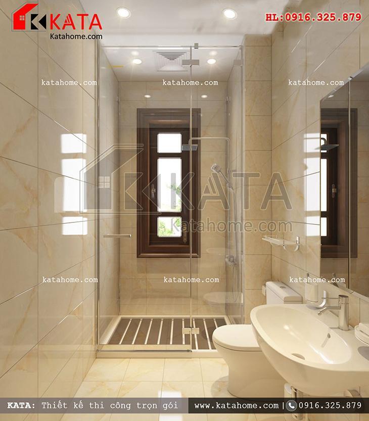 Thiết kế phòng vệ sinh với nội thất cao cấp (2)