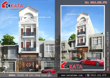 Katahome.com -Thiết kế nhà phố, thiết kế nhà ống, thiết kế nhà liền kề đẹp, thiết kế giá rẻ, thi công trọn gói