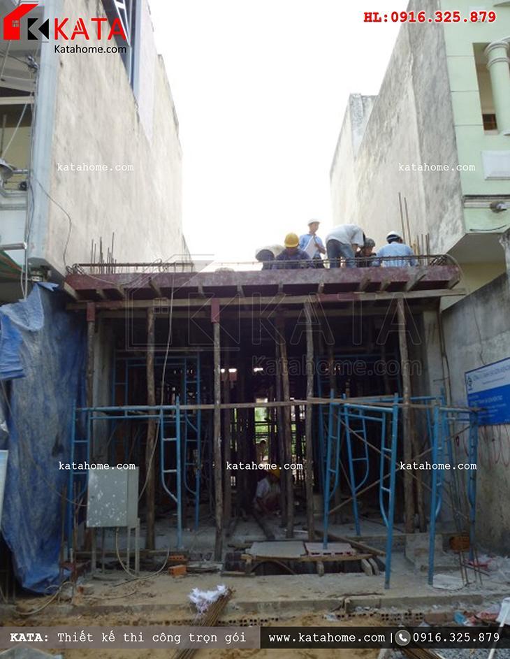 Thi công nhà ở trọn gói với mẫu biệt thự 3 tầng - Mã số: TC 13013 (2)