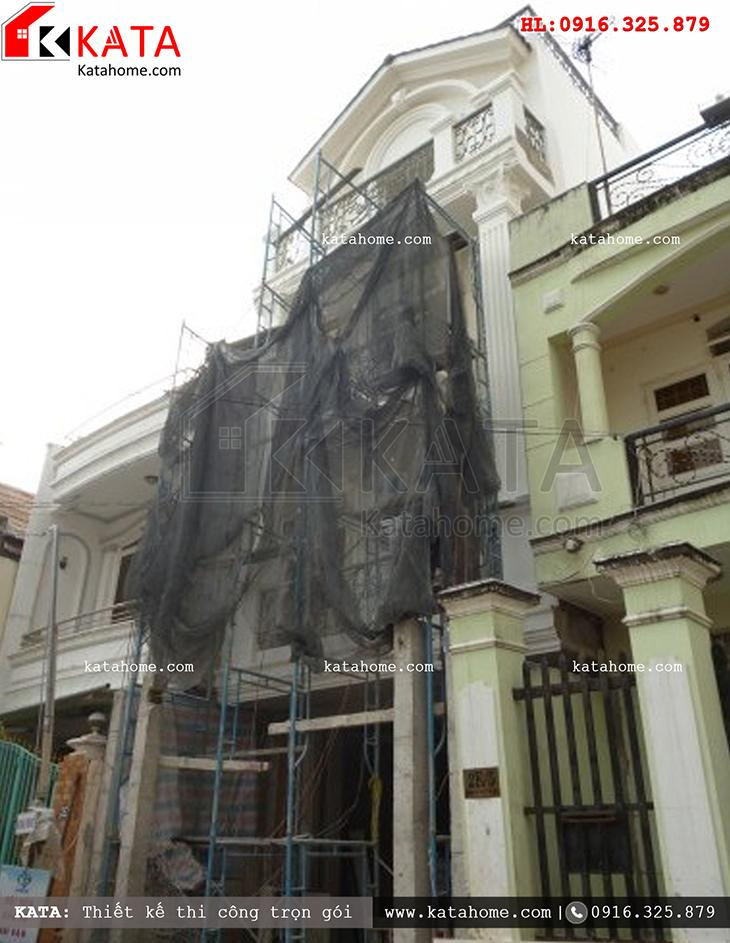 Thi công nhà ở trọn gói với mẫu biệt thự 3 tầng - Mã số: TC 13013 (15)
