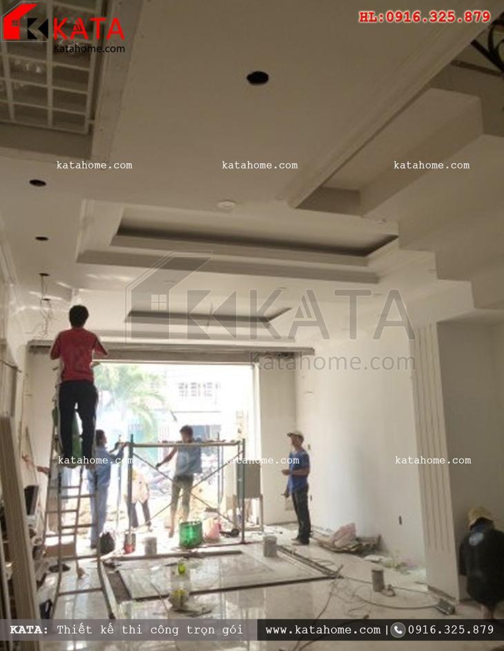 Thi công nhà ở trọn gói với mẫu biệt thự 3 tầng - Mã số: TC 13013 (17)