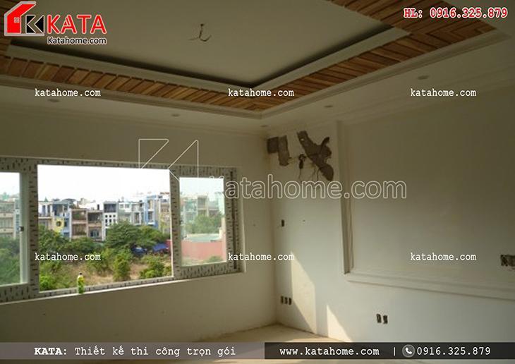 Thi công nhà ở trọn gói với mẫu biệt thự 3 tầng - Mã số: TC 13013 (21)