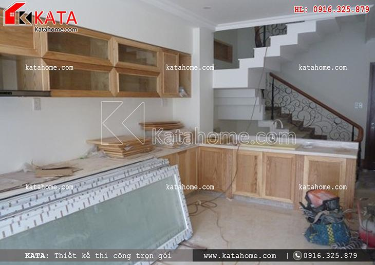 Thi công nhà ở trọn gói với mẫu biệt thự 3 tầng - Mã số: TC 13013 (24)