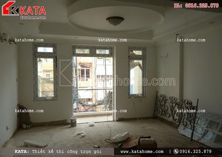 Thi công nhà ở trọn gói với mẫu biệt thự 3 tầng - Mã số: TC 13013 (18)