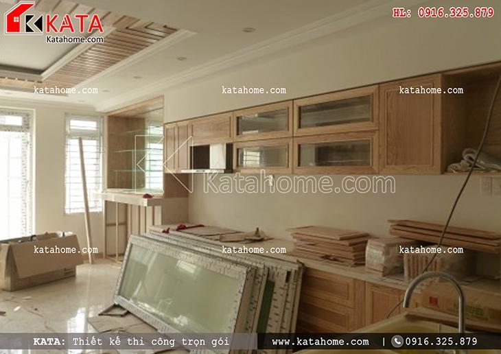 Thi công nhà ở trọn gói với mẫu biệt thự 3 tầng - Mã số: TC 13013 (20)