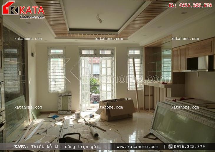 Thi công nhà ở trọn gói với mẫu biệt thự 3 tầng - Mã số: TC 13013 (22)