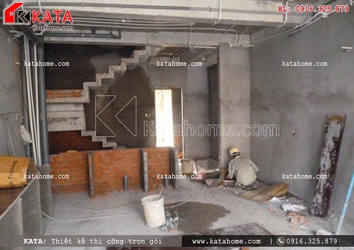 Thi công nhà ở trọn gói với mẫu biệt thự 3 tầng - Mã số: TC 13013 (13)