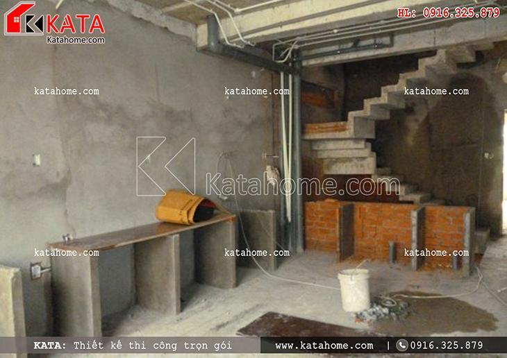 Thi công nhà ở trọn gói với mẫu biệt thự 3 tầng - Mã số: TC 13013 (12)