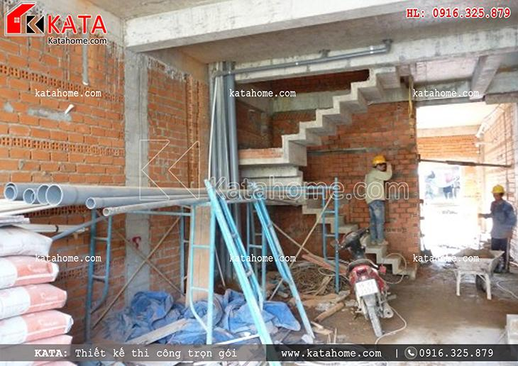 Thi công nhà ở trọn gói với mẫu biệt thự 3 tầng - Mã số: TC 13013 (10)