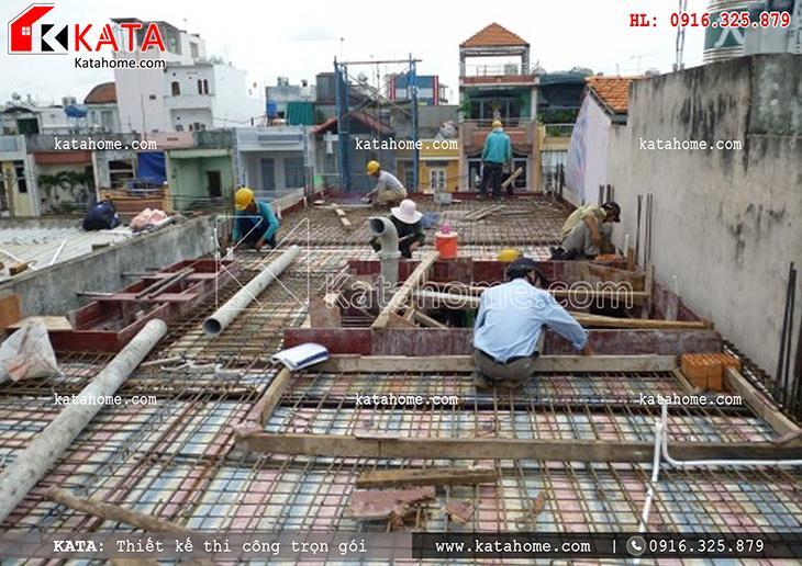 Thi công nhà ở trọn gói với mẫu biệt thự 3 tầng - Mã số: TC 13013 (4)
