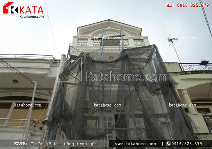 Thi công nhà ở trọn gói với mẫu biệt thự 3 tầng - Mã số: TC 13013 (16)
