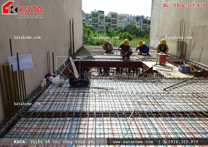 Thi công nhà ở trọn gói với mẫu biệt thự 3 tầng - Mã số: TC 13013 (5)