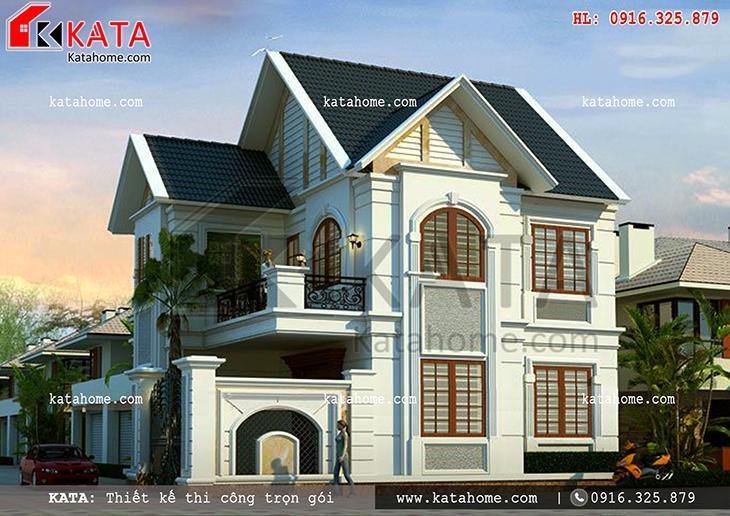 Thiết kế nhà ở 80m2 2 tầng tại Quảng Ninh – Mã số: BT 25052