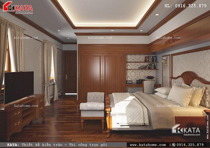Mẫu nhà phố 4 tầng tân cổ điển tại Phú Thọ - Mã số: NP 48022 (6)