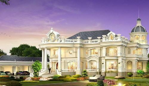 Thiết kế biệt thự phong cách Thái