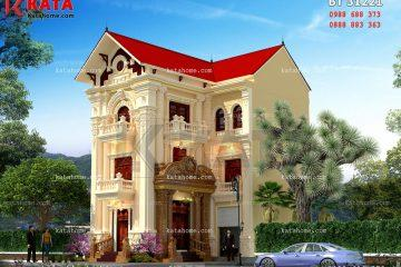 Thiết kế biệt thự 3 tầng đẹp tại Phú Thọ
