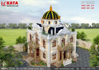 Lâu đài 2 tầng đẹp