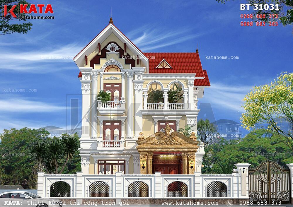 Thiết kế biệt thự tại Hưng Yên