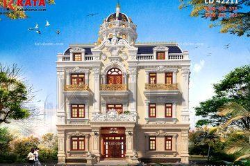 Thiết kế lâu đài 4 tầng đẹp tại Hải Phòng