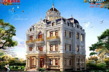 Thiết kế lâu đài 3 tầng đẹp tại Hải Phòng
