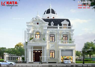 mẫu thiết kế lâu đài 2 tầng đẹp