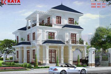 thiết kế biệt thự đẹp bt 36121