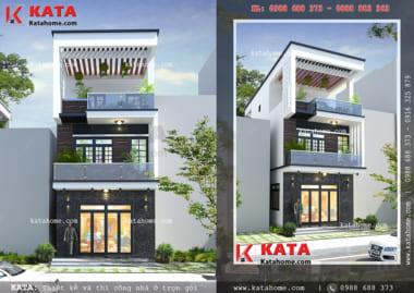 thiết kế nhà lô phố NP 35051