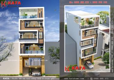 mẫu nhà phố 5 tầng kinh doang NP 55052