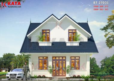 Xung quanh ngôi nhà được thiết kế các khu trồng hoa, cây cảnh