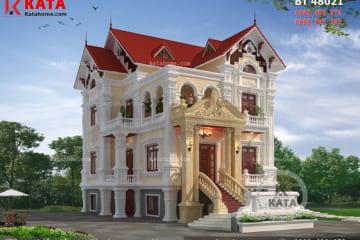 Mẫu biệt thự tân cổ điển đẹp 3 tầng