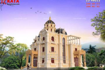 thiết kế lâu đài dinh thự đẹp LD 46023