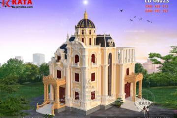 Biệt thự lâu đài 3 tầng đẹp LD 46023