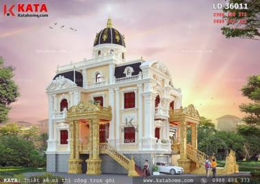 Thi công lâu đài dinh thự 3 tầng tại Sơn La sang trọng và đẳng cấp