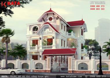 Ngôi nhà mái thái 3 tầng sáng tạo tại Hưng Yên