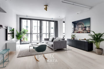 Xu hướng thiết kế phòng khách đẹp 2018