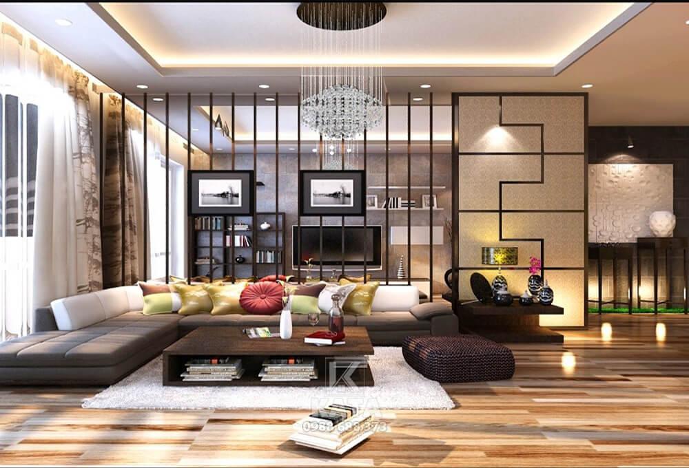 Gợi ý phong cách thiết kế phòng khách đẹp cho nhà biệt thự