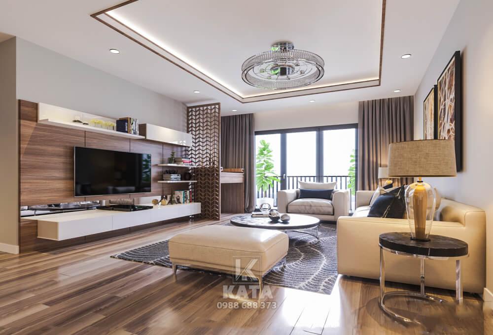 Không gian phòng khách đẹp cho căn nhà biệt thự sang trọng, đẳng cấp